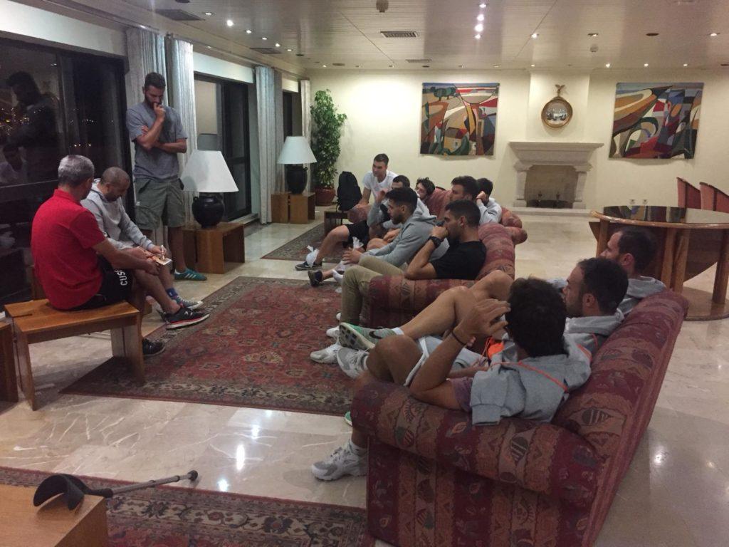 riunione tecnica Basket cusb