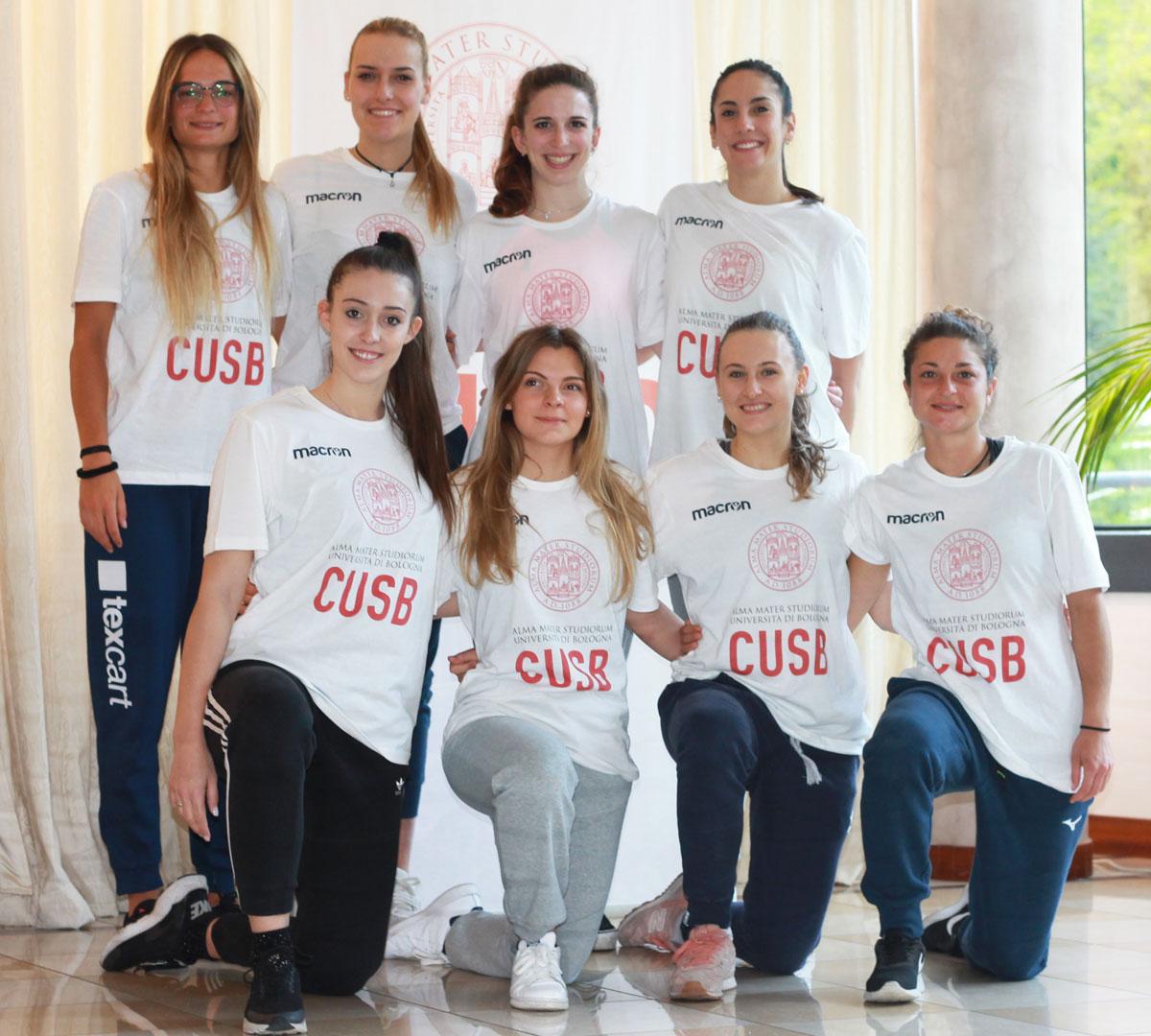 pallavolo femminile cnu 2019 cus Bologna