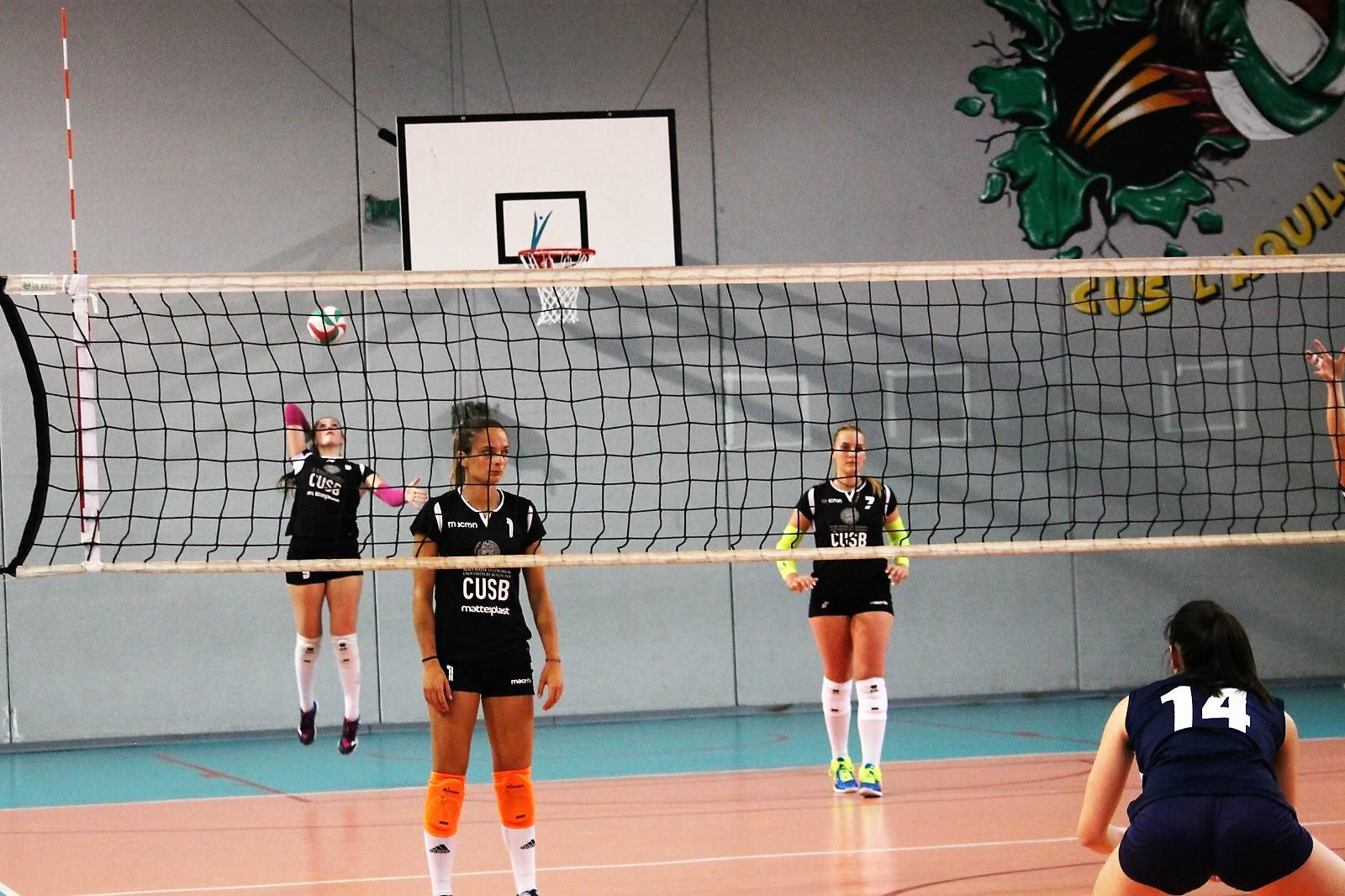 Cnu 2019 L'Aquila Volley Femminile Cus Bologna